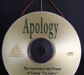 Apology Book CD