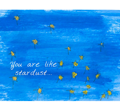 Stardust Greeting Cards