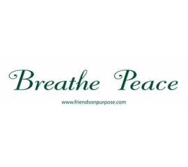 Breathe Peace Bumper Stickers