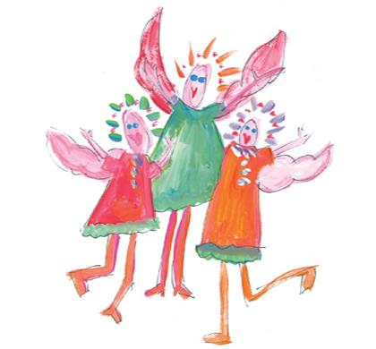 Gotcha Covered Angel Greeting Cards