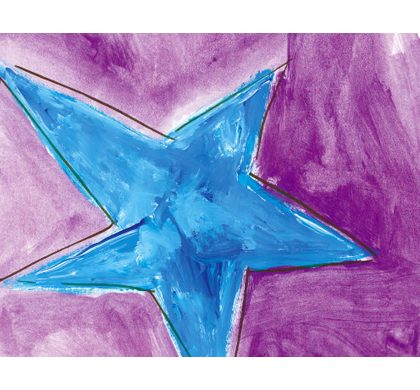 Star Greeting Cards